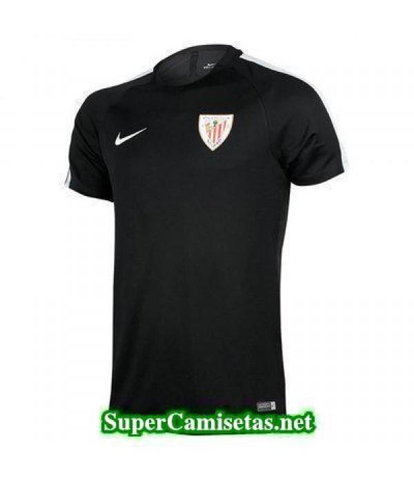 camiseta entrenamiento Athletic de Bilbao Negro 2016 2017