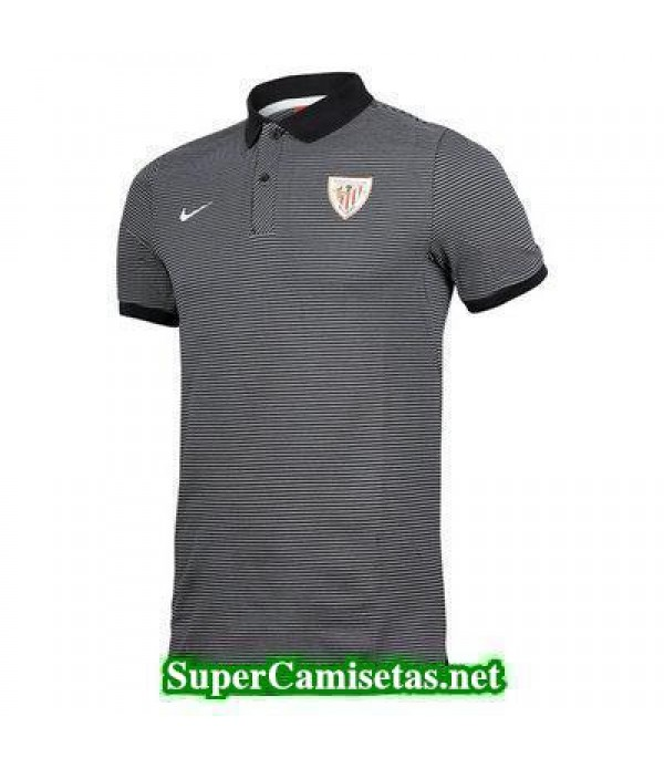 Camiseta polo Athletic de Bilbao Gris 2016 2017