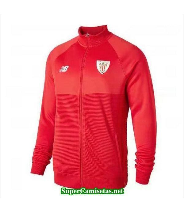 Chaquetas Athletic de Bilbao Rojo-01 2018 2019 bar...
