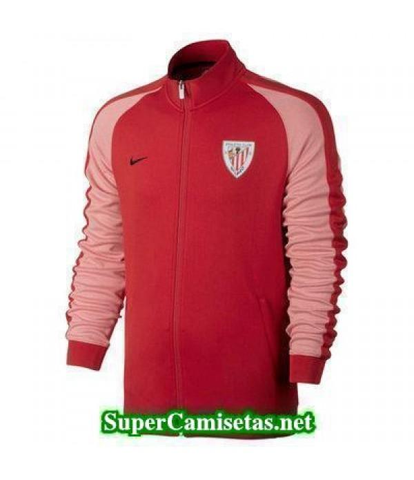Chaquetas Athletic de Bilbao Rojo 2016 2017 baratas