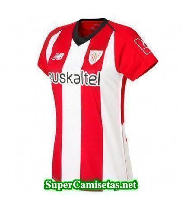Primera Equipacion Camiseta Athletic de Bilbao Muj...