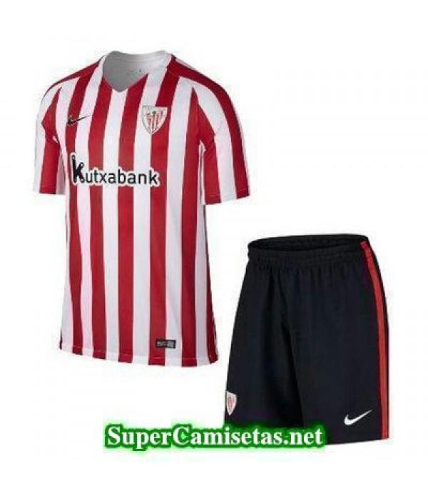 Primera Equipacion Camiseta Athletic de Bilbao Ninos 2016/17