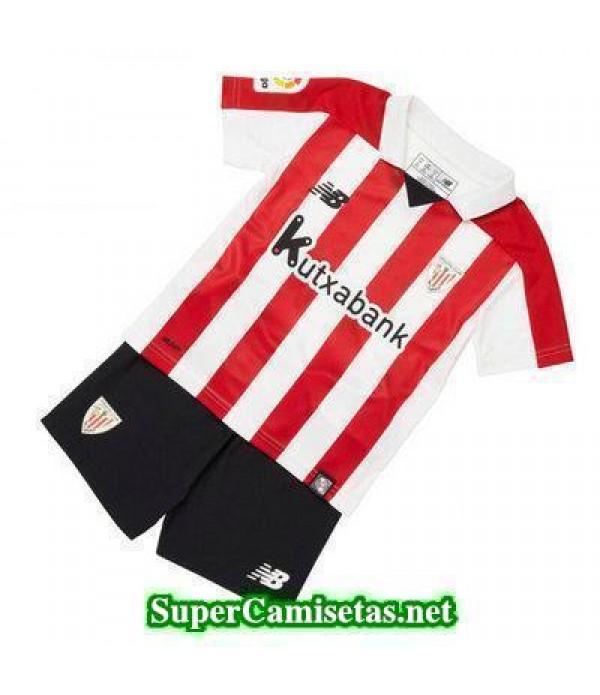 Primera Equipacion Camiseta Athletic de Bilbao Ninos 2017/18