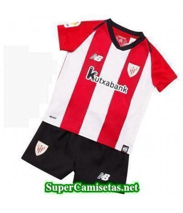 Primera Equipacion Camiseta Athletic de Bilbao Nin...