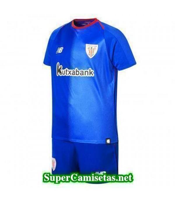 Segunda Equipacion Camiseta Athletic de Bilbao Ninos 2018/19