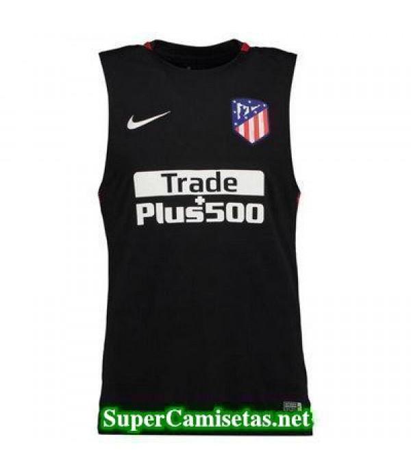 camiseta chaleco Atletico de Madrid Negro 2017 2018