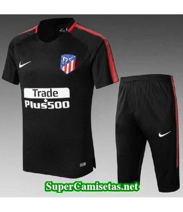 camiseta entrenamiento Atletico de Madrid Negro 2017 2018