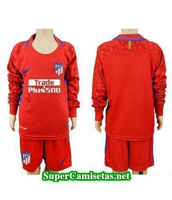 Portero Equipacion Camiseta Atletico de Madrid ML ...