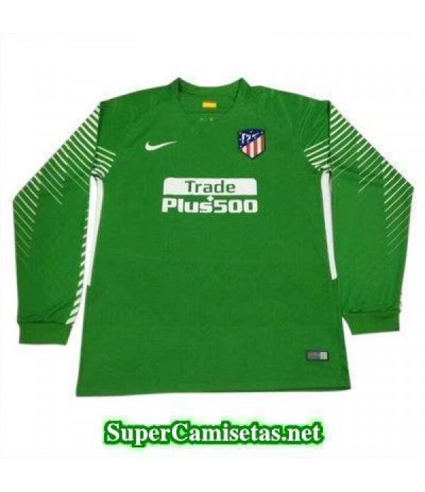 Portero Equipacion Camiseta Atletico de Madrid ML Verde 2017/18
