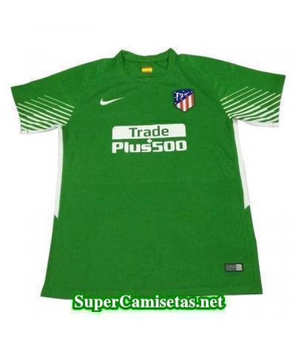 Portero Equipacion Camiseta Atletico de Madrid Ver...