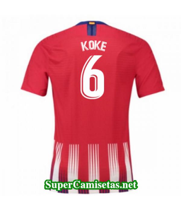 Primera Equipacion Camiseta Atletico de Madrid Koke 2018/19