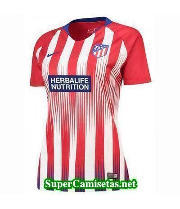 Primera Equipacion Camiseta Atletico de Madrid Mujer 2018/19