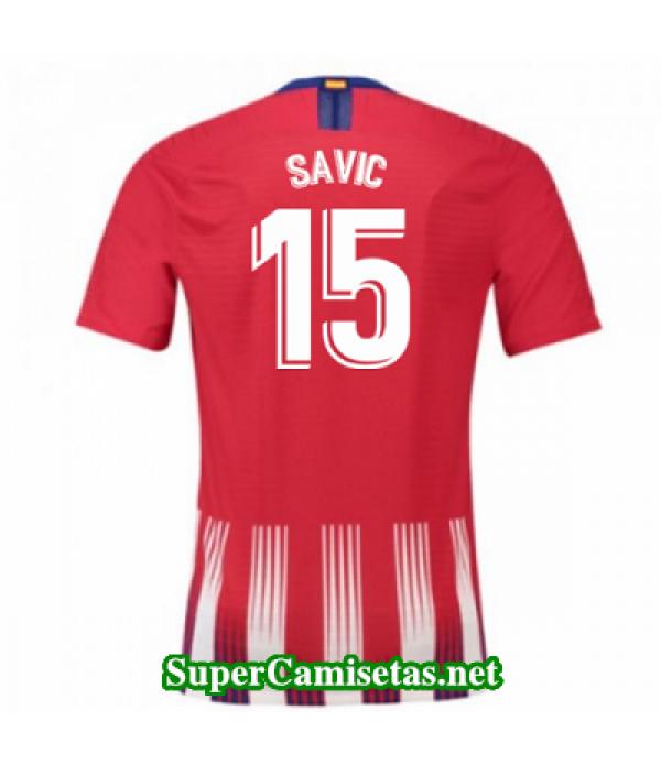 Primera Equipacion Camiseta Atletico de Madrid Savic 2018/19