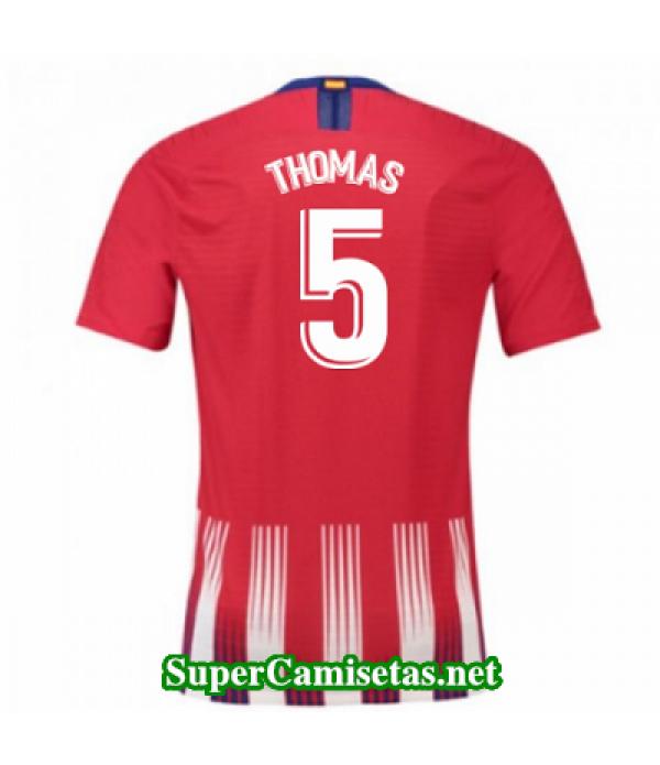Primera Equipacion Camiseta Atletico de Madrid Thomas 2018/19