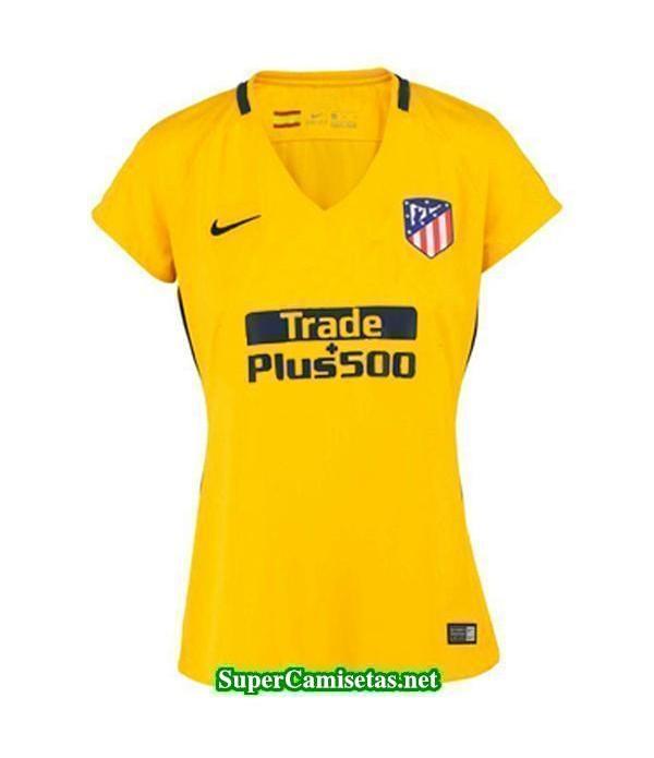 Segunda Equipacion Camiseta Atletico de Madrid Mujer 2017/18