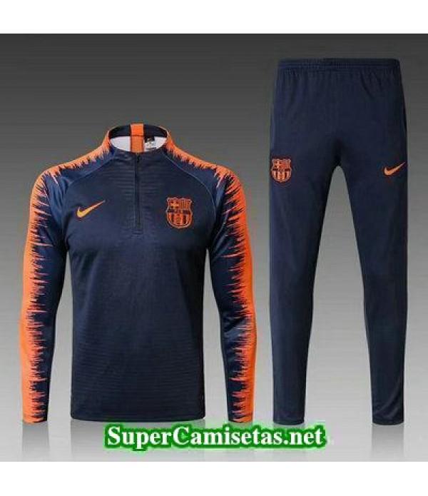 Camiseta entrenamiento Barcelona ML negro 2018 201...
