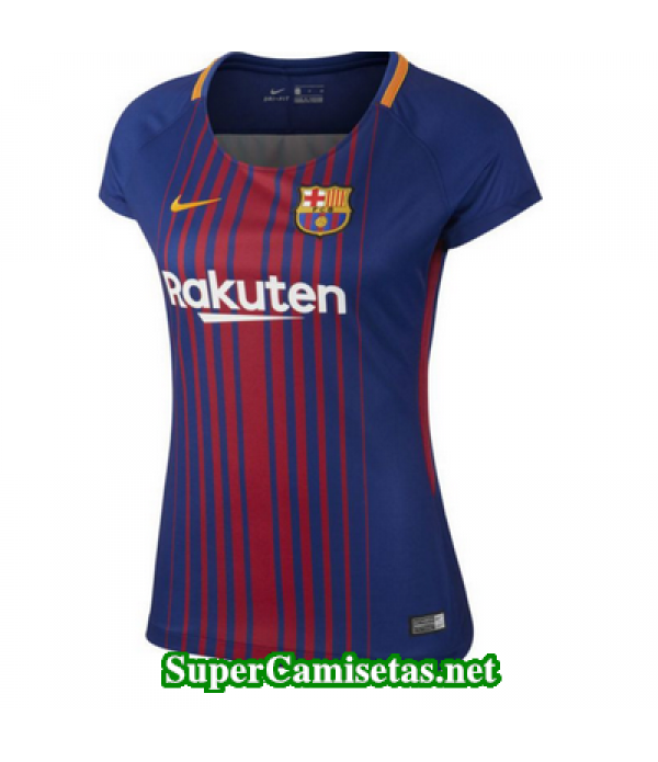 Primera Equipacion Camiseta Barcelona Mujer 2017/1...