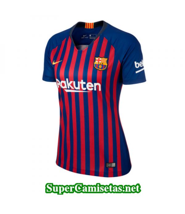 Primera Equipacion Camiseta Barcelona Mujer 2018/1...