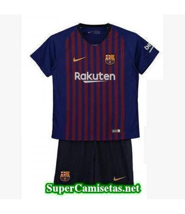 Primera Equipacion Camiseta Barcelona Ninos 2018/1...