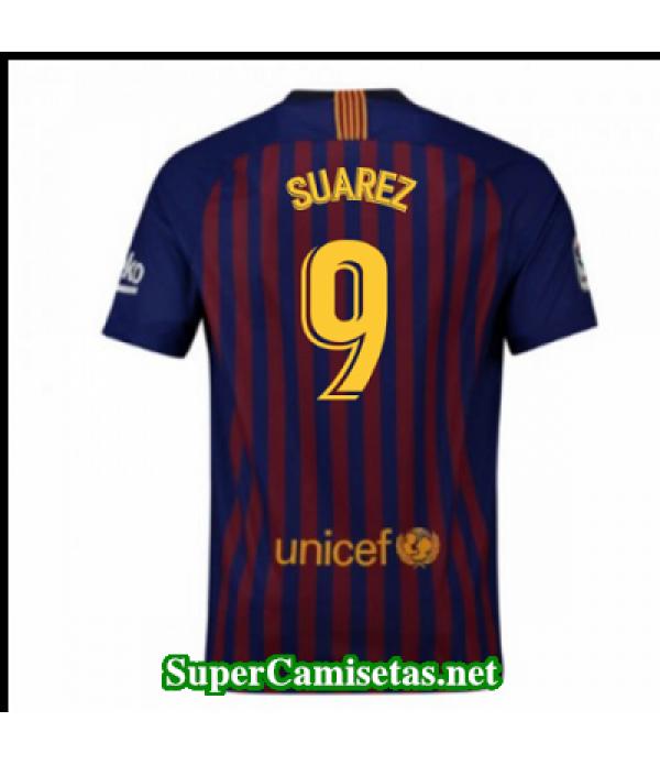 Primera Equipacion Camiseta Barcelona Suarez 2018/19