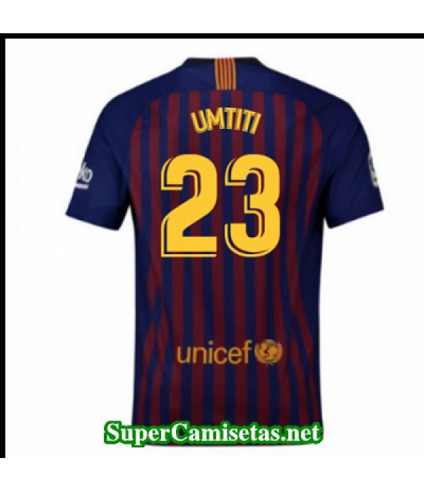 Primera Equipacion Camiseta Barcelona Umtiti 2018/19