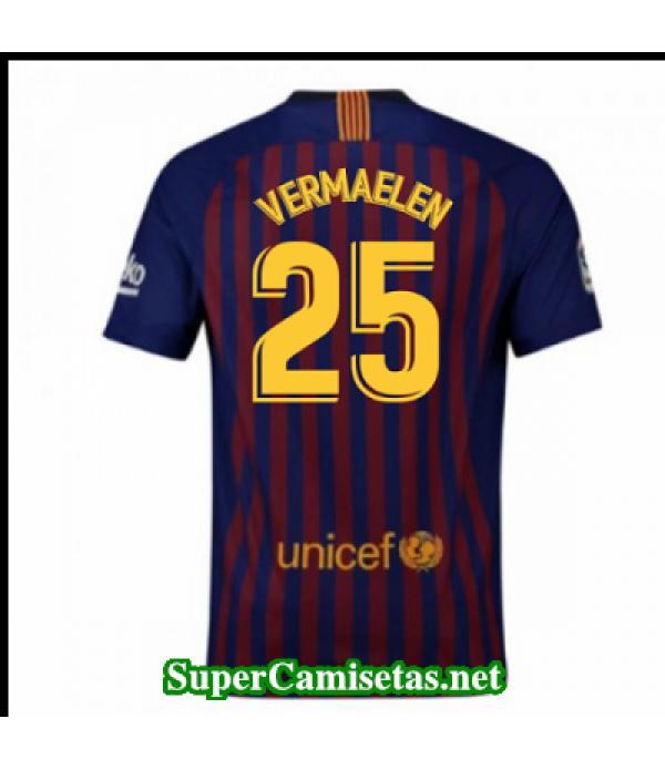 Primera Equipacion Camiseta Barcelona Vermaelen 2018/19