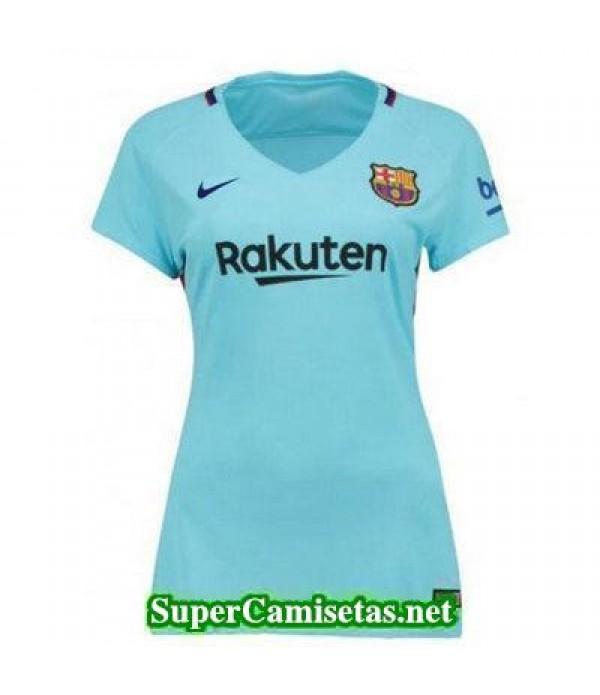 Segunda Equipacion Camiseta Barcelona Mujer 2017/1...