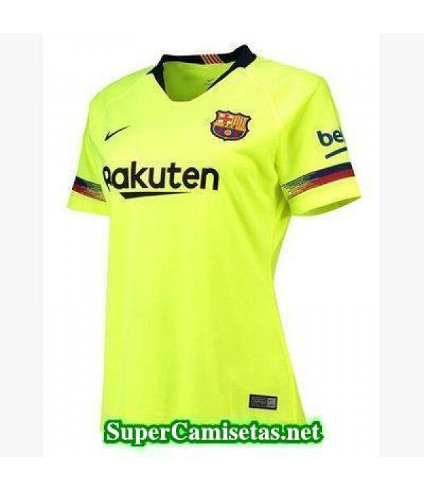 Segunda Equipacion Camiseta Barcelona Mujer 2018/19