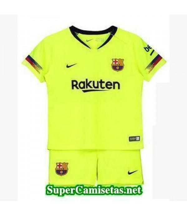 Segunda Equipacion Camiseta Barcelona Ninos 2018/1...