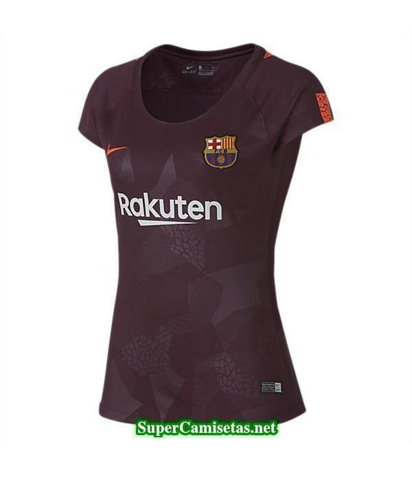 Tercera Equipacion Camiseta Barcelona Mujer 2017/1...