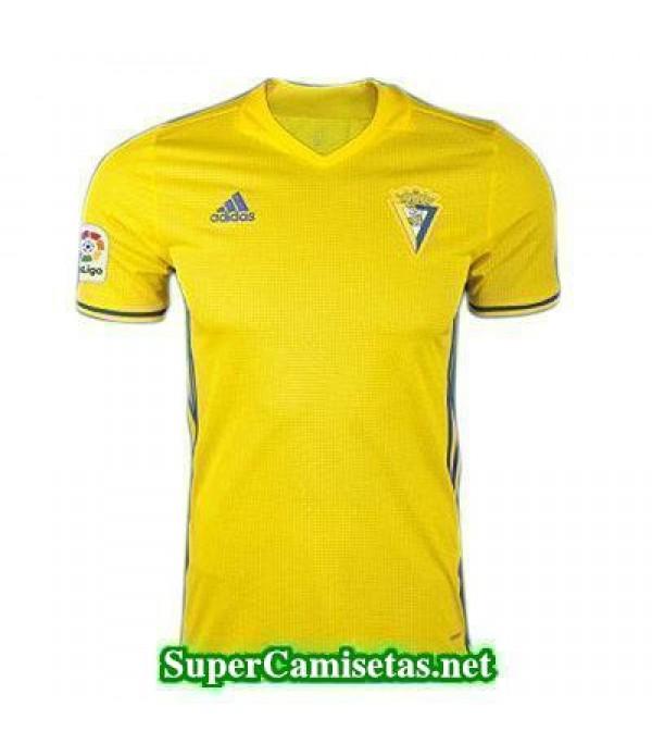 Tailandia Primera Equipacion Camiseta Cadiz CF 2017/18