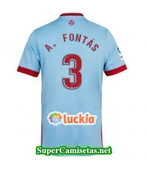Primera Equipacion Camiseta Celta de Vigo A FONTAS...