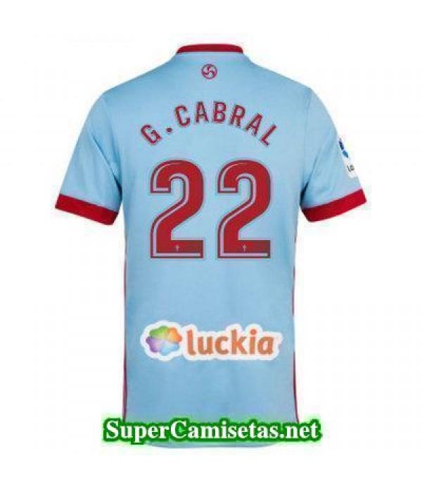 Primera Equipacion Camiseta Celta de Vigo G CABRAL...