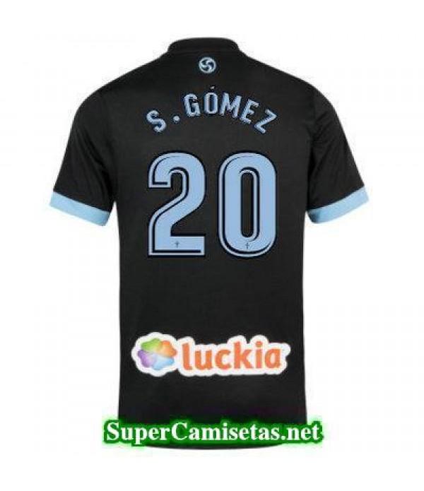 Segunda Equipacion Camiseta Celta de Vigo S GOMEZ 2017/18