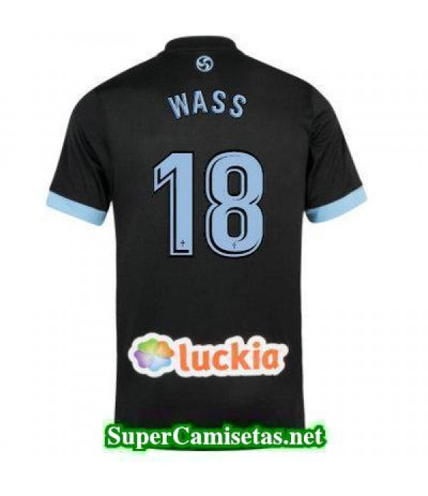 Segunda Equipacion Camiseta Celta de Vigo WASS 2017/18