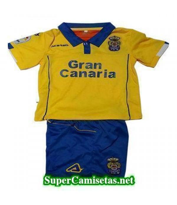 Primera Equipacion Camiseta Las Palmas Ninos 2016/17