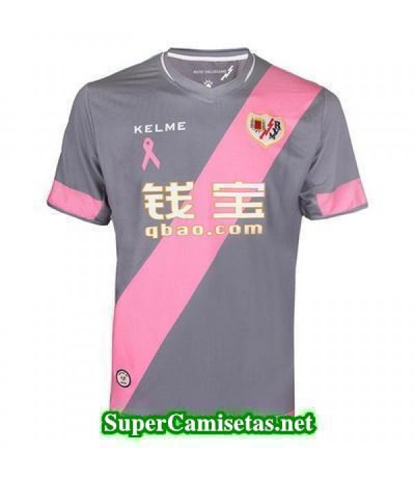 Tailandia Tercera Equipacion Camiseta Rayo Vallecano 2015/16