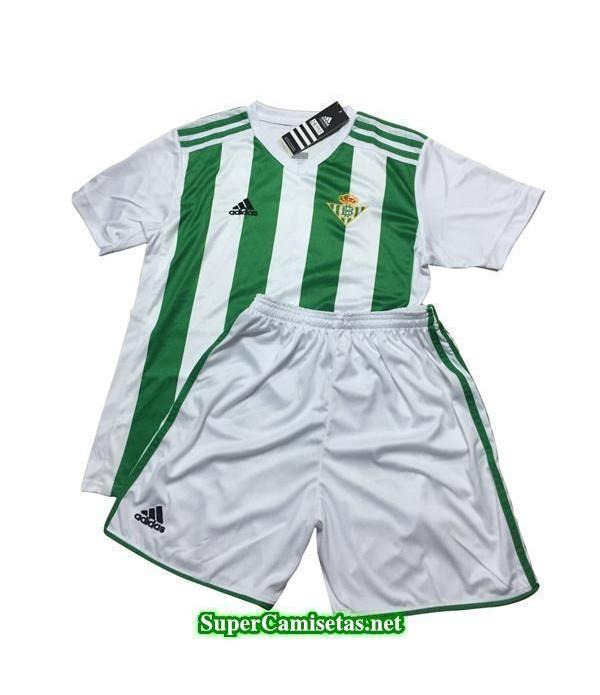 Primera Equipacion Camiseta Real Betis Ninos 2017/18