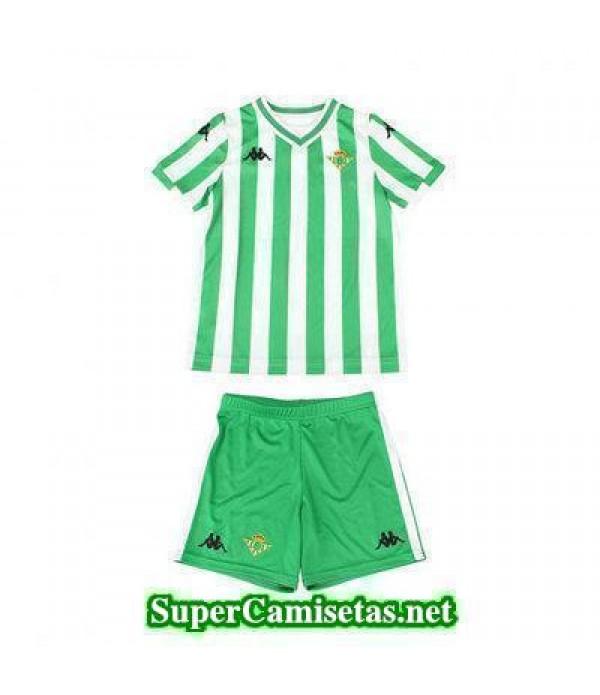 Primera Equipacion Camiseta Real Betis Ninos 2018/...