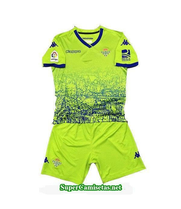Tercera Equipacion Camiseta Real Betis Ninos 2018/19