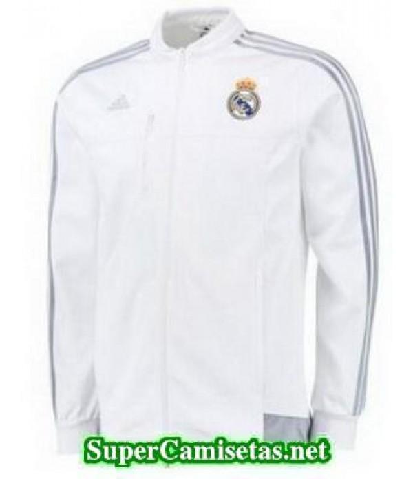Blanco Chaquetas Real Madrid baratas 2015 2016