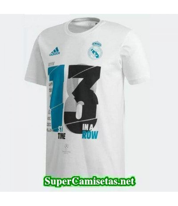 Camiseta Real Madrid 2018 UEFA Champions League ga...