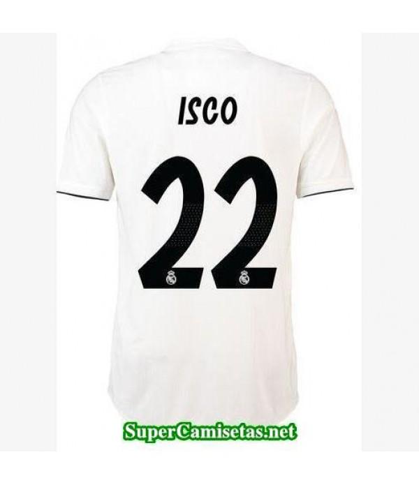 Primera Equipacion Camiseta Real Madrid Isco 2018/...