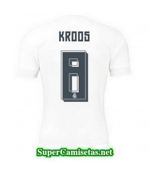 Primera Equipacion Camiseta Real Madrid KROOS 2015/16