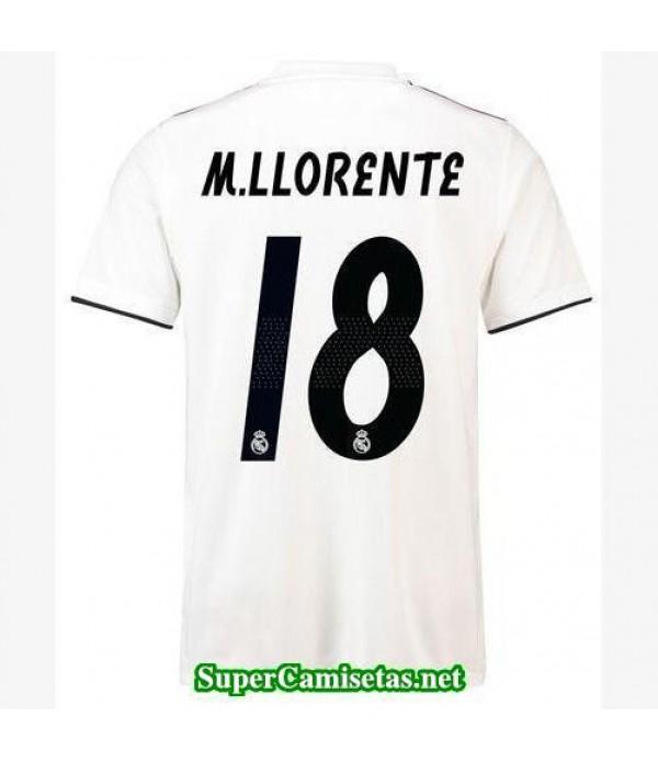 Primera Equipacion Camiseta Real Madrid M Llorente...