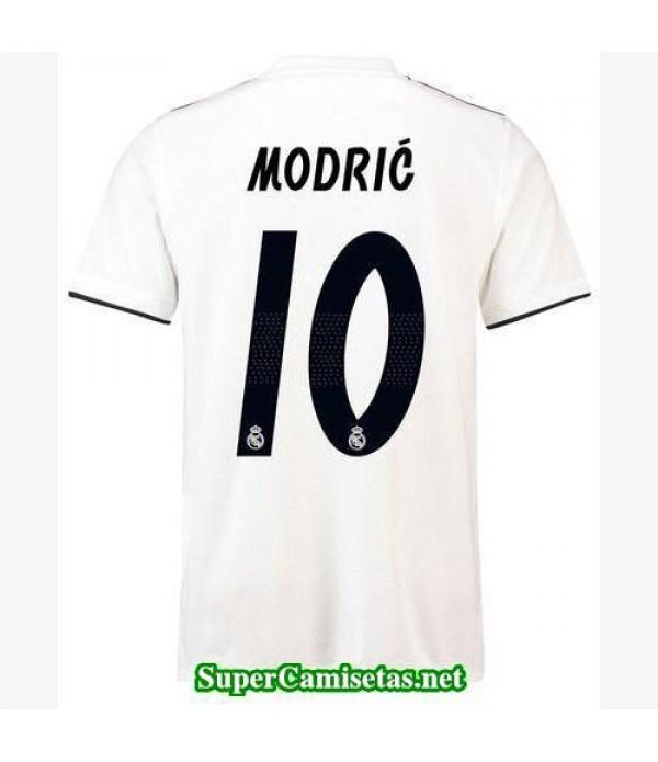 Primera Equipacion Camiseta Real Madrid Modric 201...