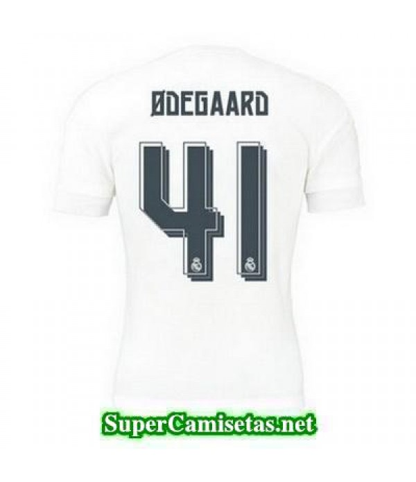 Primera Equipacion Camiseta Real Madrid ODEGAARD 2015/16