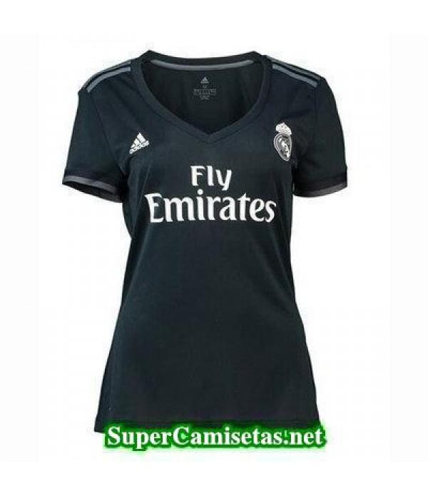 Segunda Equipacion Camiseta Real Madrid Mujer 2018...
