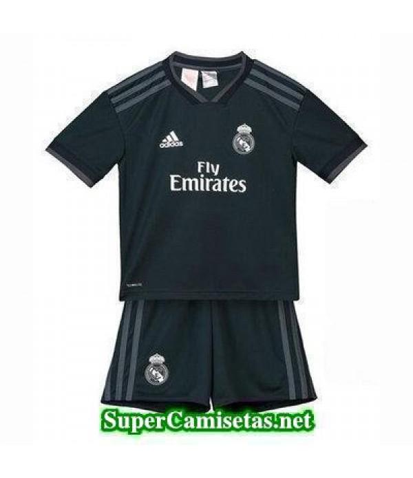 Segunda Equipacion Camiseta Real Madrid Ninos 2018/19