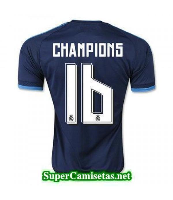 Tercera Equipacion Camiseta Real Madrid CHAMPIONS 2015/16
